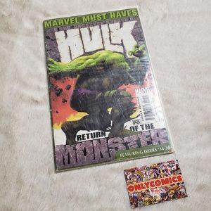 Marvel Comics: The Incredible Hulk Issues #34-#36